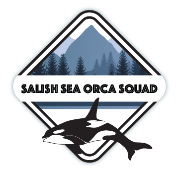Salish Sea Orca Squad Protection Society Logo